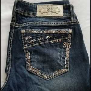"""Miss Me Jean's """"Signature Cuffed Straight"""" Size 30"""